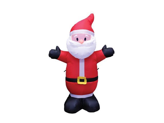 Morris Costumes Halloween Novelty Accessories Santa Inflatable  4ft