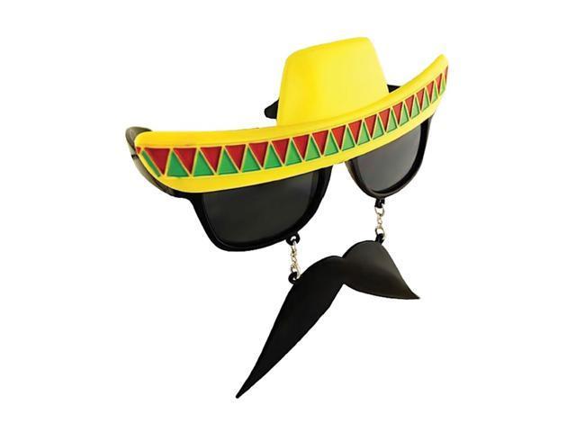 Morris Costumes Halloween Novelty Accessories Sunstache Mexican Dk