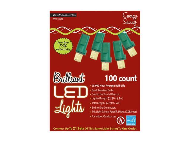 Morris Costumes Halloween Novelty Accessories Holiday Lights 100l M5 Warm White