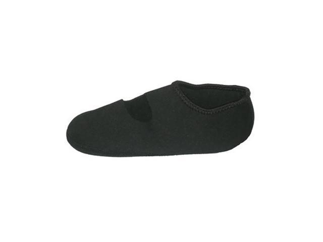 Calla Holdings LLC Indoor Water Resistant Footwear Nufoot Socks, Black XLG