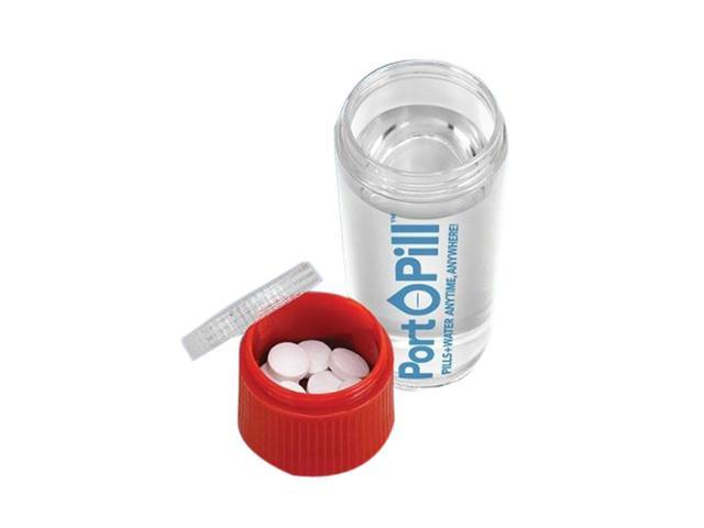 Discovery Inc Travel Outdoor Transportable Leak Resistant Port-O-Pill Container