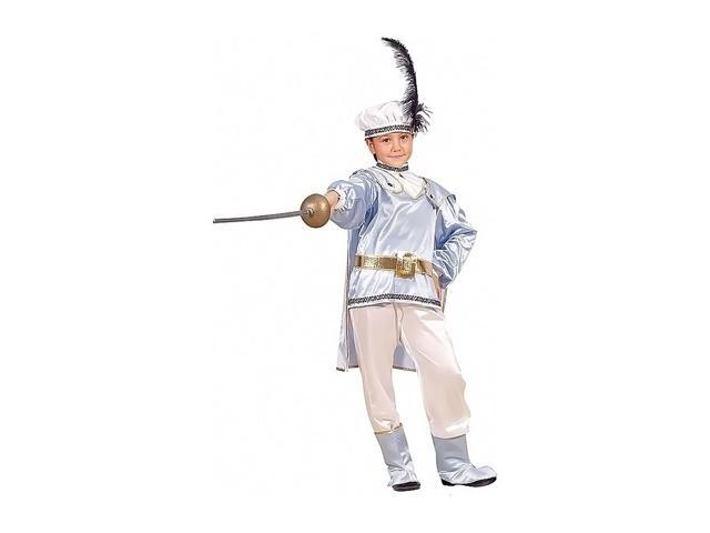 Dress Up America Halloween Party Costume Prince Charming - Size Small 4-6
