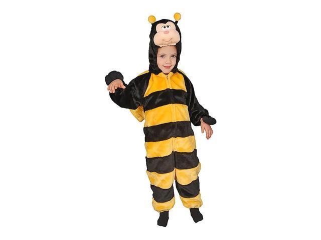 Dress Up America Halloween Little Honey Bee Costume Set - Size 6
