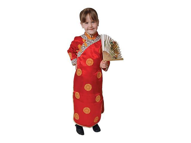 Dress Up America Halloween Cosplay Chinese Girl Costume Small 4-6