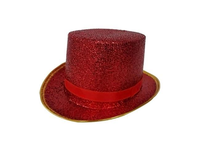 Dress Up America Halloween Party Costume Red Top Hat