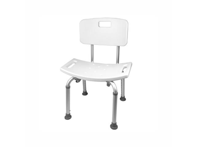 SCWB-4 Adjustable Shower Chair White