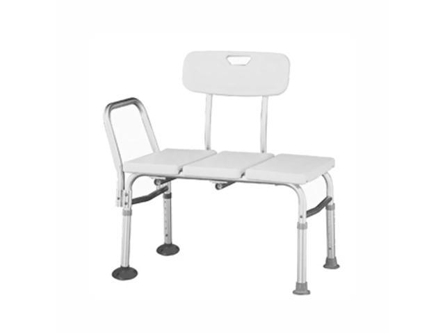 Roscoe Medical BTH-TFR Adjustable Transfer Bench White