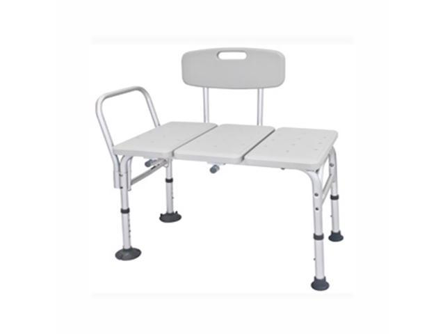 Roscoe Medical TFR-HD6G Adjustable Transfer Bench Gray