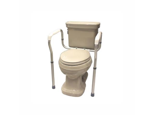 Roscoe Medical ROS-TSF4 Toilet Safety Frame Gray