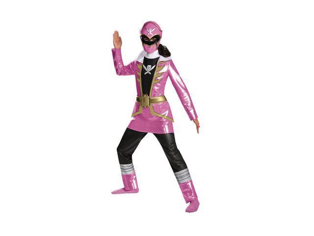 Morris Costumes Halloween Party Pink Ranger Deluxe Child 4-6