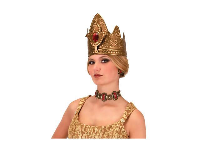 Morris Costumes Halloween Party Queen Crown Adult