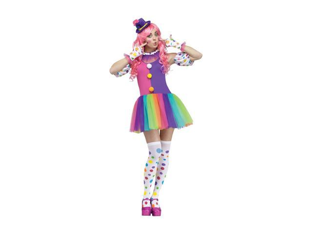Morris Costumes Halloween Party Clownin Around Adult Small-Medium