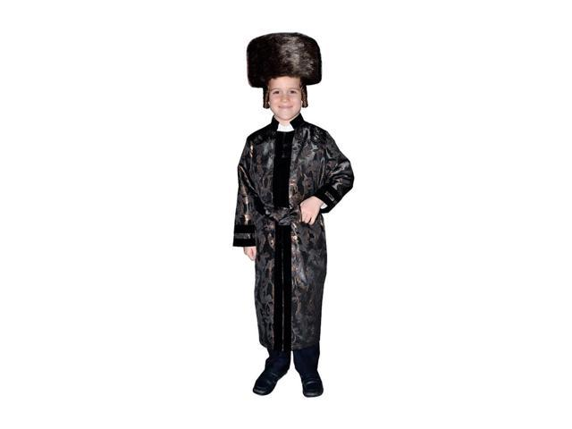 Dress Up America Halloween Party Costume Black Bekitcha Size Small (4-6)