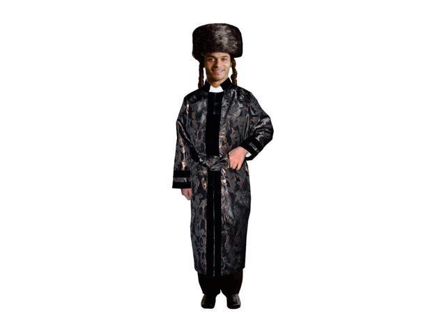 Dress Up America Halloween Party Costume Adult Black Bekitcha Size Adult XX-Large