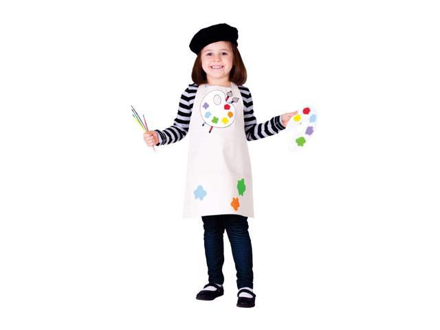 Dress Up America Halloween Party Costume Talented Artist Size Toddler T4