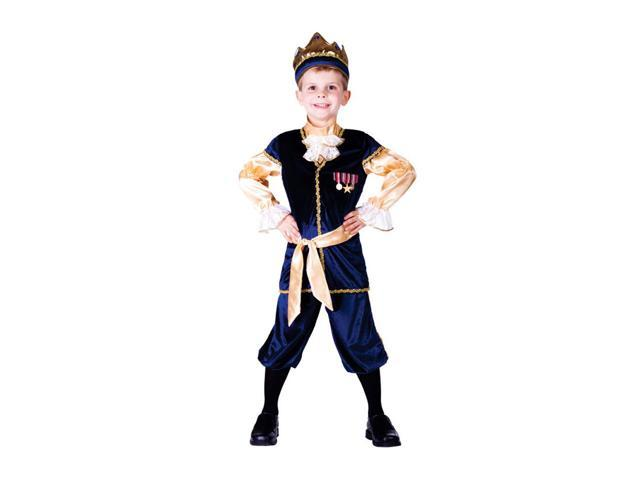 Dress Up America Halloween Party Costume Renaissance Prince Size Small (4-6)