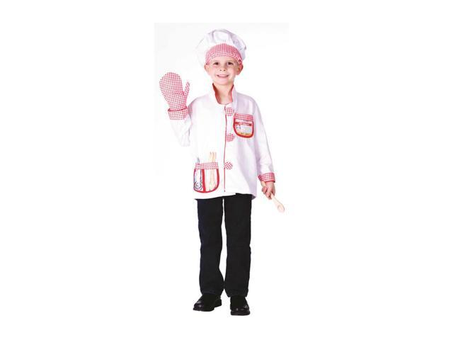 Dress Up America Halloween Party Costume Chef  Role Play Dress Up Set - Ages 3-7