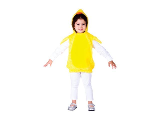 Dress Up America Halloween Party Costume Little Baby Chick Size Small (4-6)