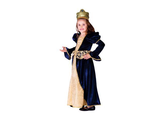Dress Up America Halloween Party Costume Renaissance Princess Size Small (4-6)