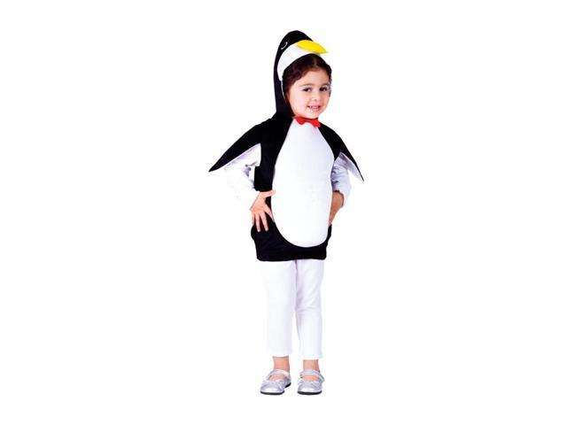 Dress Up America Halloween Party Costume Happy Penguin Size Toddler T4
