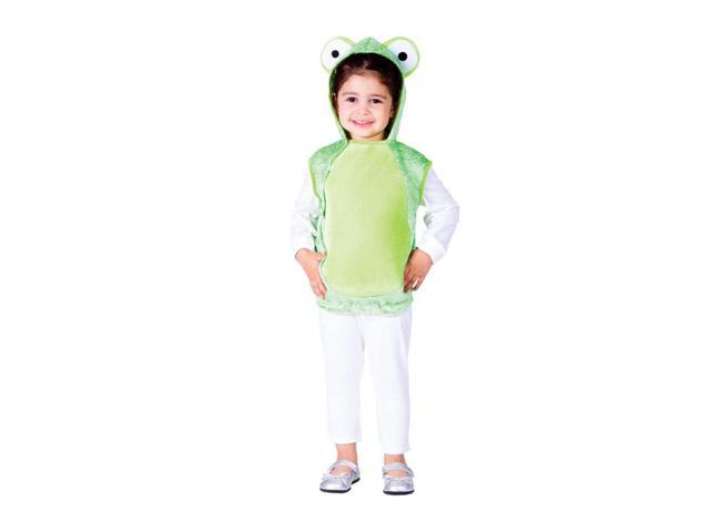 Dress Up America Halloween Party Costume Mr. Frog Size Small (4-6)