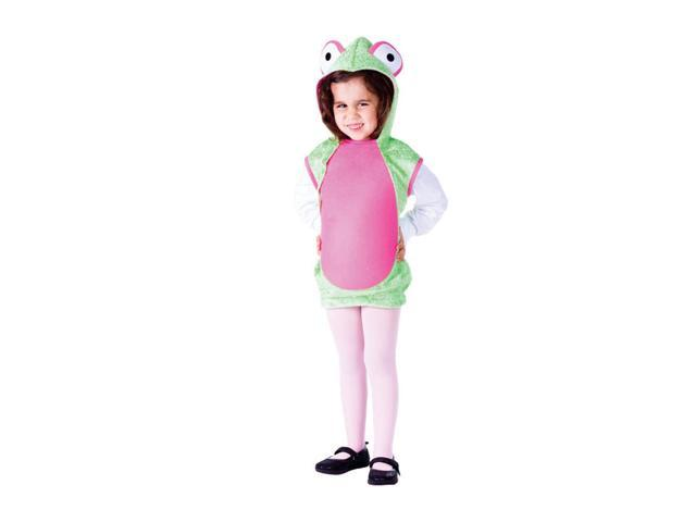 Dress Up America Halloween Party Costume Mrs. Frog Size Small (4-6)