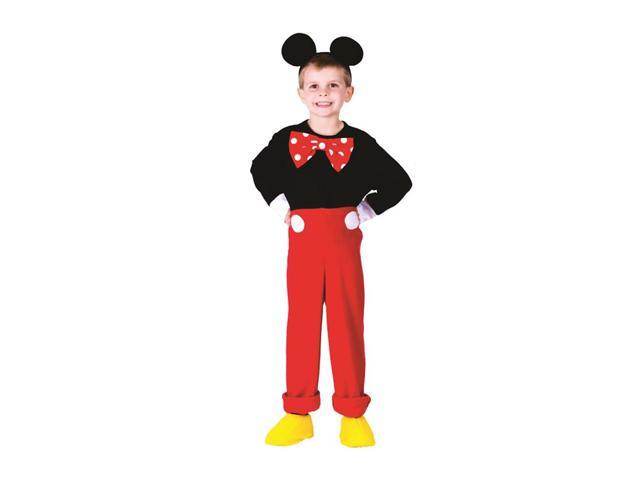 Dress Up America Halloween Party Costume Mr. Mouse Size Small (4-6)