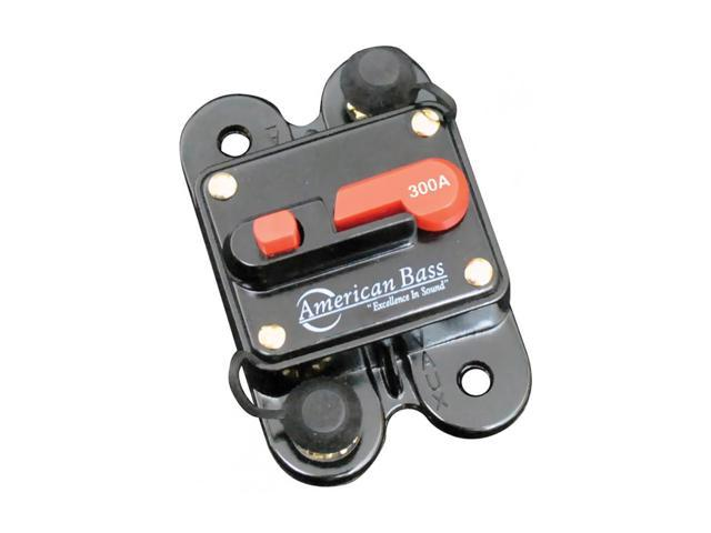 American Bass 300A Circuit Breaker, Blister Pack