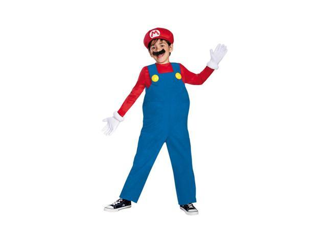 Morris Costumes Halloween Festival Accessories Mario Bros Deluxe Boys 4-6
