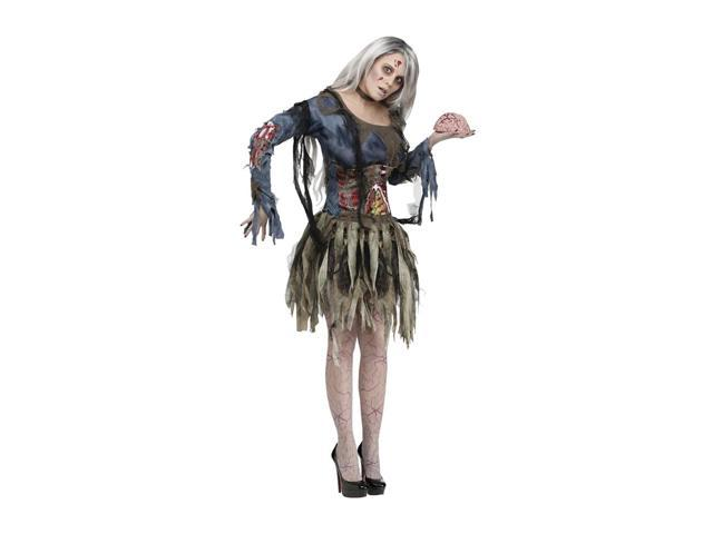Morris Costumes Halloween Festival Accessories Zombie Adult Small Medium