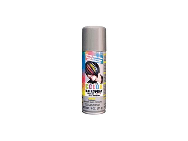 Blinkee Halloween Holiday Seasonal Decorative Temporary Colored Rave Hair Spray Silver