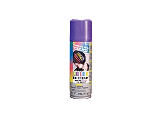 Blinkee Halloween Holiday Seasonal Decorative Temporary Colored Rave Hair Spray Purple