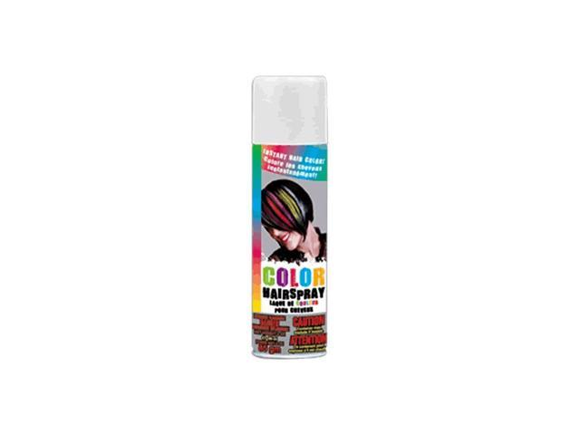 Blinkee Halloween Holiday Seasonal Decorative Temporary Colored Rave Hair Spray White
