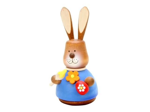 Alexander Taron Holiday Decoration Gift Accessories Christian Ulbricht Ornament Bunny Artist Painted (No String) 4