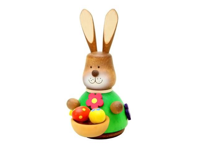 Alexander Taron Holiday Decoration Gift Accessories Christian Ulbricht Ornament Bunny With Basket (No String) 3