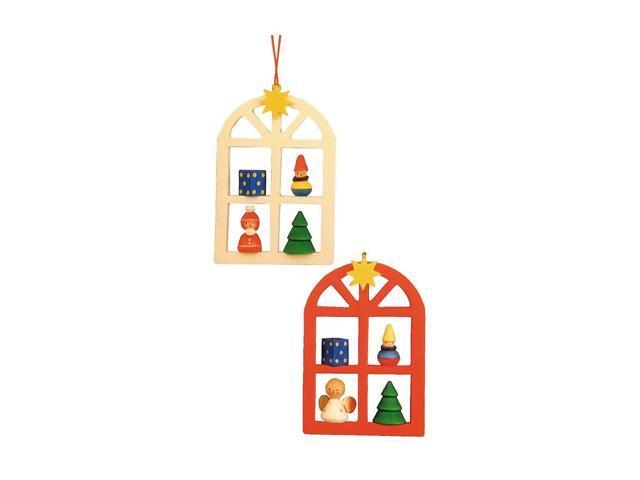 Alexander Taron Home Decoration Christian Ulbricht Ornament - Advent Window - 3H X 2W X .125D