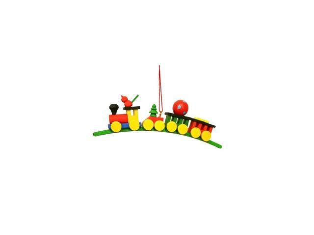 Alexander Taron Home Decoration Christian Ulbricht Ornament - Train On Arch - 1.5H X .5W X 4.25D