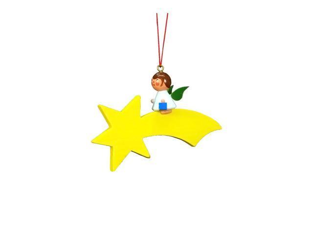 Christian Ulbricht Ornament - Angel On Star - 2.25