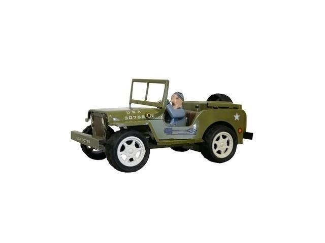 Alexander Taron Collectible Tin Toy Jeep 2.5
