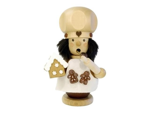 Christian Ulbricht Incense Burner - Gingerbread Baker - 5.25H X 3.5W X 3.5D