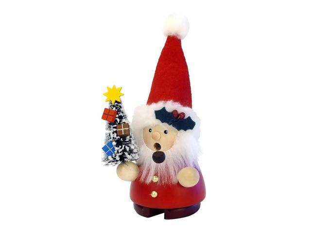 Christian Ulbricht Incense Burner - Santa With Tree - 5.5H X 3W X 2.5D