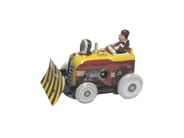 Alexander Taron Tin Wind-Up Bulldozer Figurine