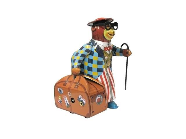 Alexander Taron Collectible Tin Toy Bear With Suitcase 5