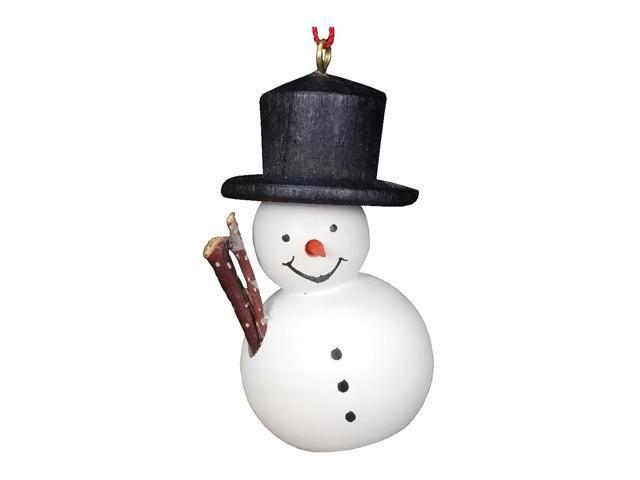 Alexander Taron Christian Ulbricht Ornament - Snowman - 1.75H X 1W X 1D