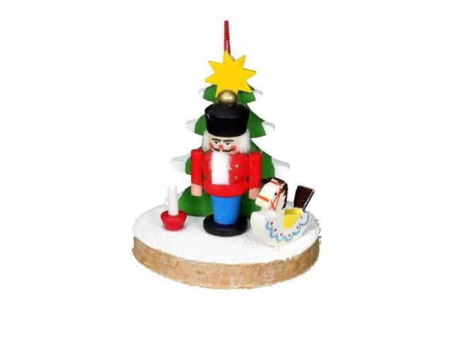 Alexander Taron Christian Ulbricht Ornament - Nutcracker With Tree And Toys - 2H X 2W X 1.75D