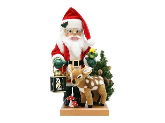 Alexander Taron Christian Ulbricht Nutcracker Santa And Bambi Ltd Edition 1000 Pcs 18