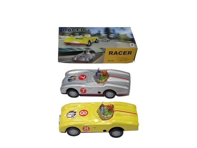Alexander Taron Collectible Tin Toy Small Racer Car 3