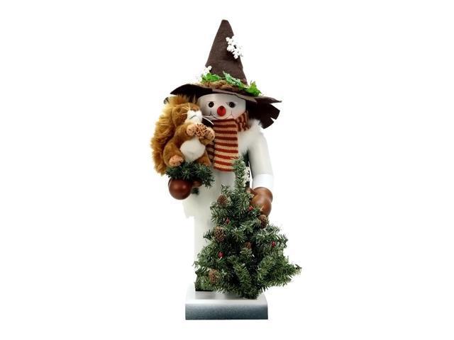 Alexander Taron Christian Ulbricht Nutcracker Snowman With Squirrel Ltd Edition 1000 Pcs 19.5
