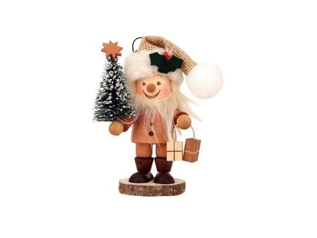 Alexander Taron Holiday Decoration Gift Accessories Christian Ulbricht Ornament Santa With Christmas Tree 4.5H X 3W X 2.5D
