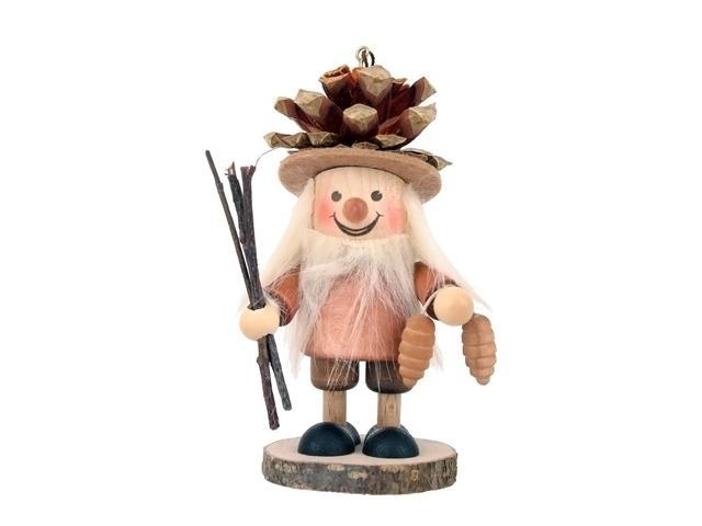 Alexander Taron Holiday Decoration Gift Accessories Christian Ulbricht Ornament Pine Cone Boy 4.5H X 2.5W X 2.5D